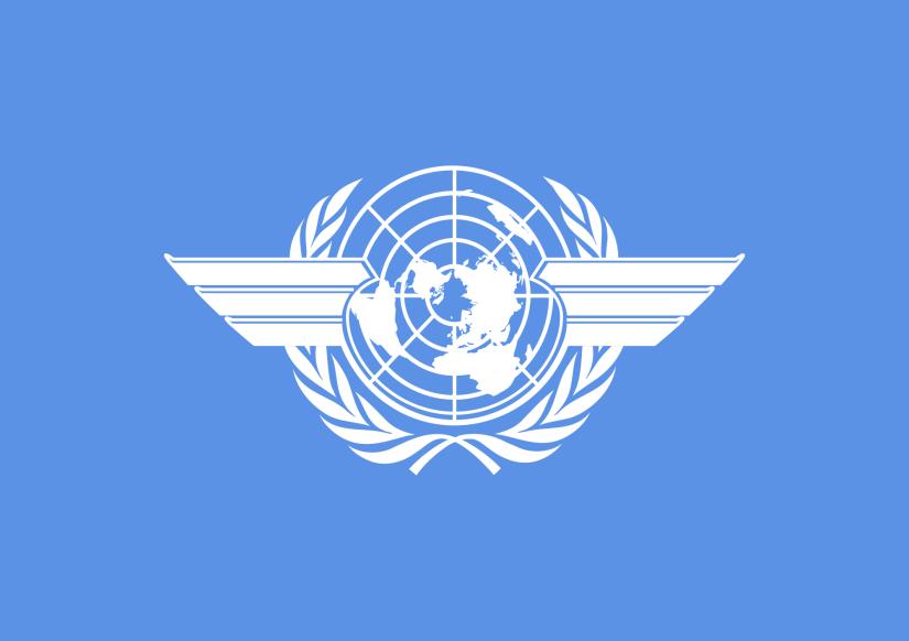 Флагът на Международната Организация за Гражданска Авиация (ICAO) - Плоската Земя - СТАМАТ