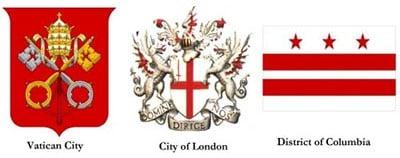 Империята на Трите града - Ватикана Лондонското Сити и Окръг Колумбия Вашингтон - Плоската Земя - СТАМАТ
