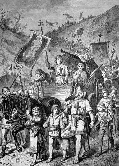 Детският кръстоносен поход на папа Инокентий III-ти от 1212 г. - най-срамното петно върху Християнството - Плоската Земя - СТАМАТ