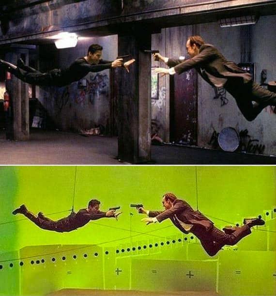 Използване на CGI и зелени екрани от Холивуд в Матрицата - Плоската Земя - СТАМАТ