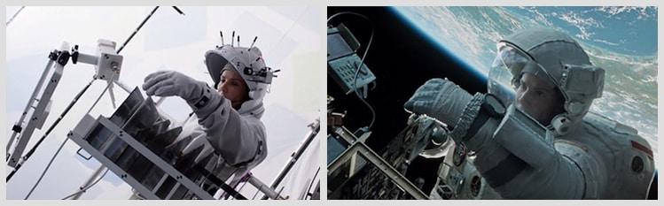 Използване на CGI и зелен екран за монтаж на сцени в космоса от Холивуд 2 - Плоската Земя - СТАМАТ