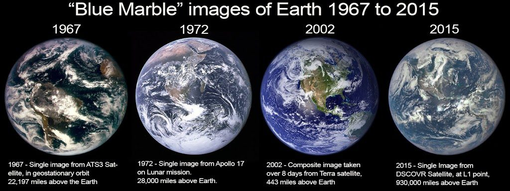 NASA измами Човечеството с фотошоп колажите Синьо топче - Плоската Земя - СТАМАТ