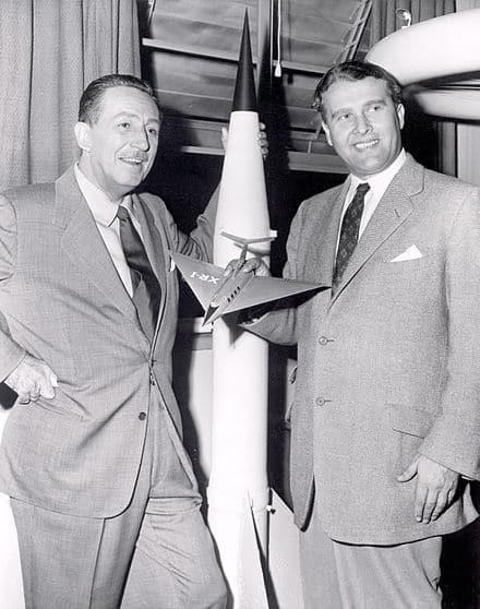 Масоните 33-та степен Уолт Дисни и Вернер фон Браун правили индоктринационни филми през 1954 - Плоската Земя - СТАМАТ