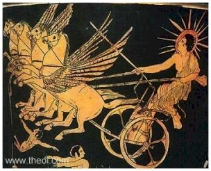 06.Слънчевата колесница на Бог Хелиос в Древна Гърция - Небеса и Земя от Гебриел Онриет – Плоската Земя - СТАМАТ