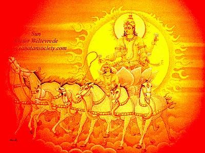 07.Слънчевата колесница на Бог Сурия в Индуизма - Небеса и Земя от Гебриел Онриет – Плоската Земя - СТАМАТ