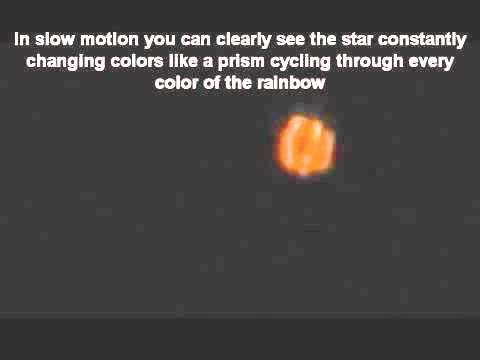44.Звезда постоянно променяща цветовете си като призма - Небеса и Земя от Гебриел Онриет – Плоската Земя - СТАМАТ
