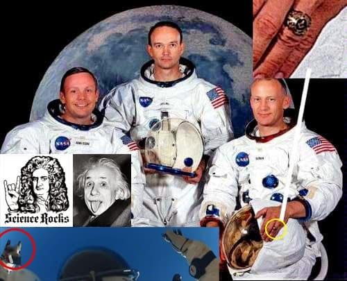 Масонската NASA измами Човечеството, че Луната е твърда повърхност, до която можеш да стигнеш с ракета - Плоската Земя - СТАМАТ