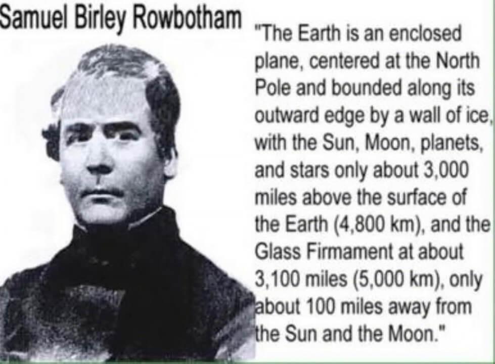 Д-р Самюел Бърли Роуботъм - Зететичният изследовател на Плосака Земя - СТАМАТ