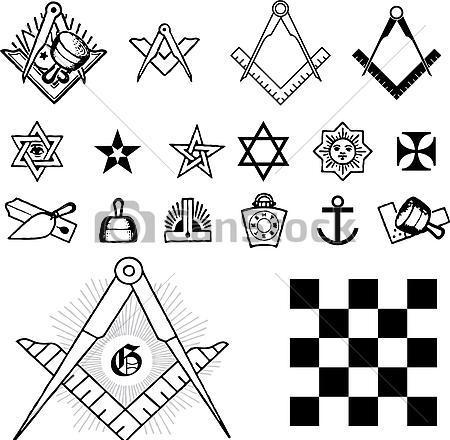 Масонски символи - Плоската Земя - СТАМАТ