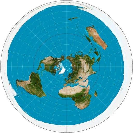 Лого на Плоската Земя - СТАМАТ