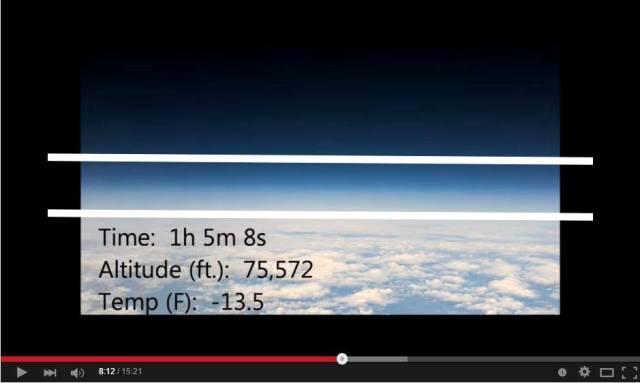 0406.Хоризонтът е винаги равен на нивото на погледа, дори заснет от балон на 23 034 метра височина-Плоската Земя-СТАМАТ