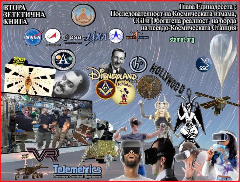Последователност-на-Космическата-измама,-CGI-и-Обогатена-реалност-на-борда-на-псевдо-Космическата-Станция---Плоската-Земя---СТАМАТ