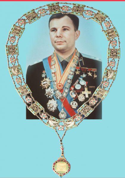 Юрий-Гагарин-бил-удостоен-с-висше-Илюминатско-отличие-Огърлицата-на-Нил---Плоската-Зема---СТАМАТ