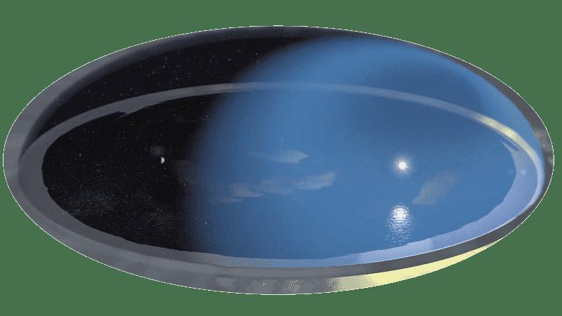 Нашата непосредствена Вселена - Земният диск покрит от Небесната Твърд - Плоската Земя - СТАМАТ