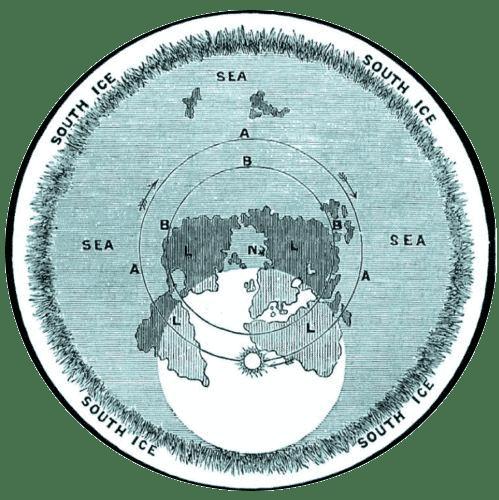 Карта-на-Плоската-Земя-от-Самюел-Роуботъм---СТАМАТ