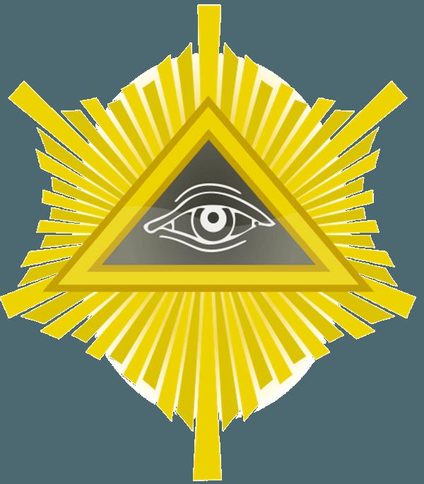 Символите-на-Криптокрацията---Всевиждащото-Око-на-Хор-и-Пирамидата-на-Световния-Контрол---Плоската-Земя---СТАМАТ