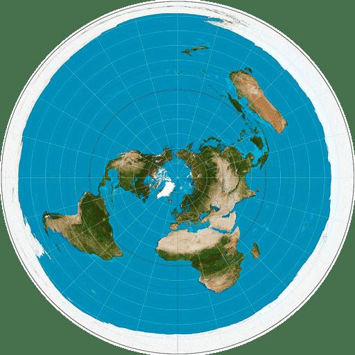 Плоската Земя