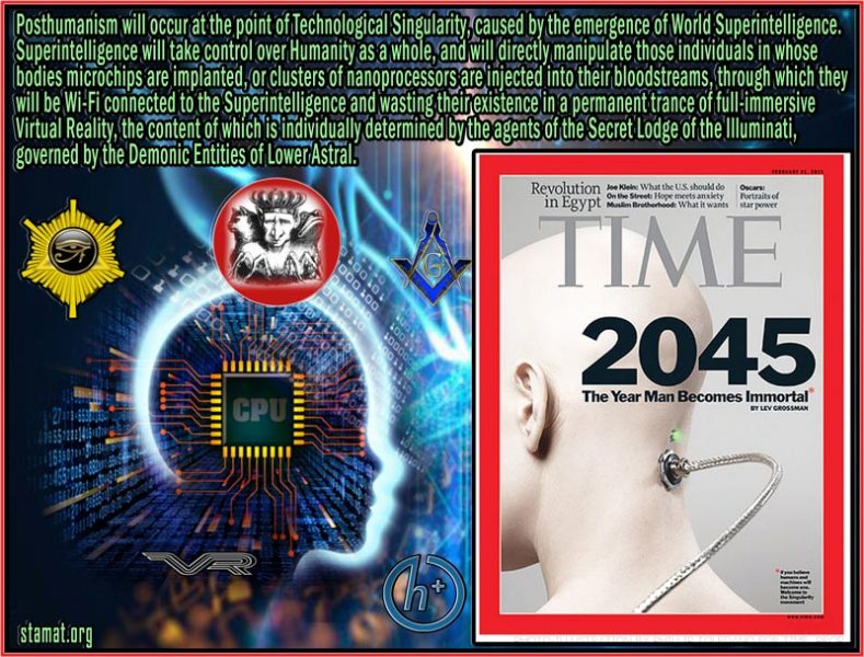 Posthumanism---World-Superintelligence,-governed-by-the-Lower-Astral---Flat-Earth---STAMAT