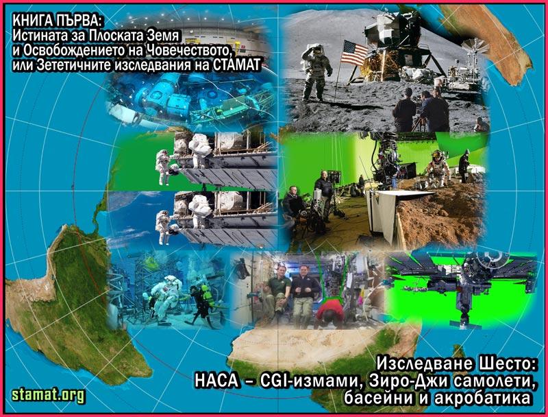 Изследване Шесто: НАСА – CGI-измами, Зиро-Джи самолети, басейни и акробатика – СТАМАТ