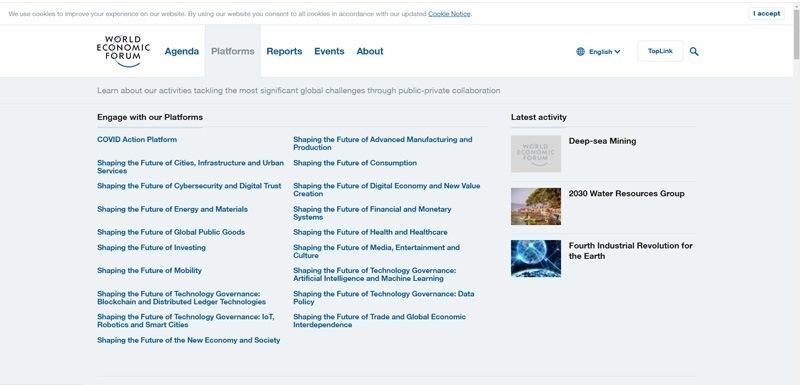World-economic-forum--Platforms