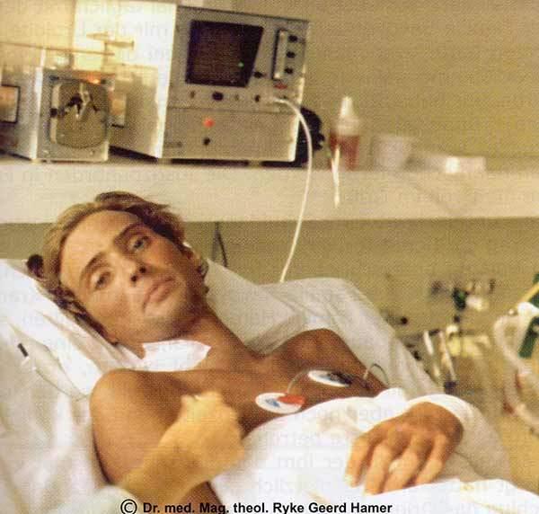Dirk-Hamer - Дирк Хамер починал на 17-годишна възраст след четиримесечна битка със смъртта